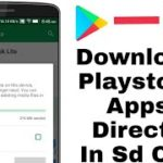 Download Playstore App And Games in SD card no root 10000