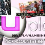 FREE UPLAY ACCOUNTS June 2018 WITH 99 Uplay Games