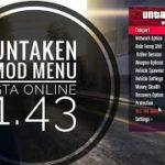 GTA 5 PC Online 1.43 Mod Menu – UnTaken wMoney (FREE DOWNLOAD)