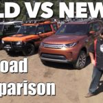 Old vs New Off-Road: Land Rover Defender vs Discovery 2 vs Range