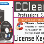 CCleaner Professional 5.45.6611 License key Crack full version