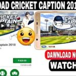 Cricket Captain2018 Download free how to download Cricket