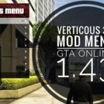 GTA 5 PC Online 1.43 Mod Menu – Verticous 3.4 wInternal Hack