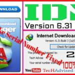 IDM 6.31 Build 3 Serial Key Crack Full Version Lifetime