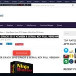 Ninja Blaster Crack 2015 Keygen Serial Key Full Version