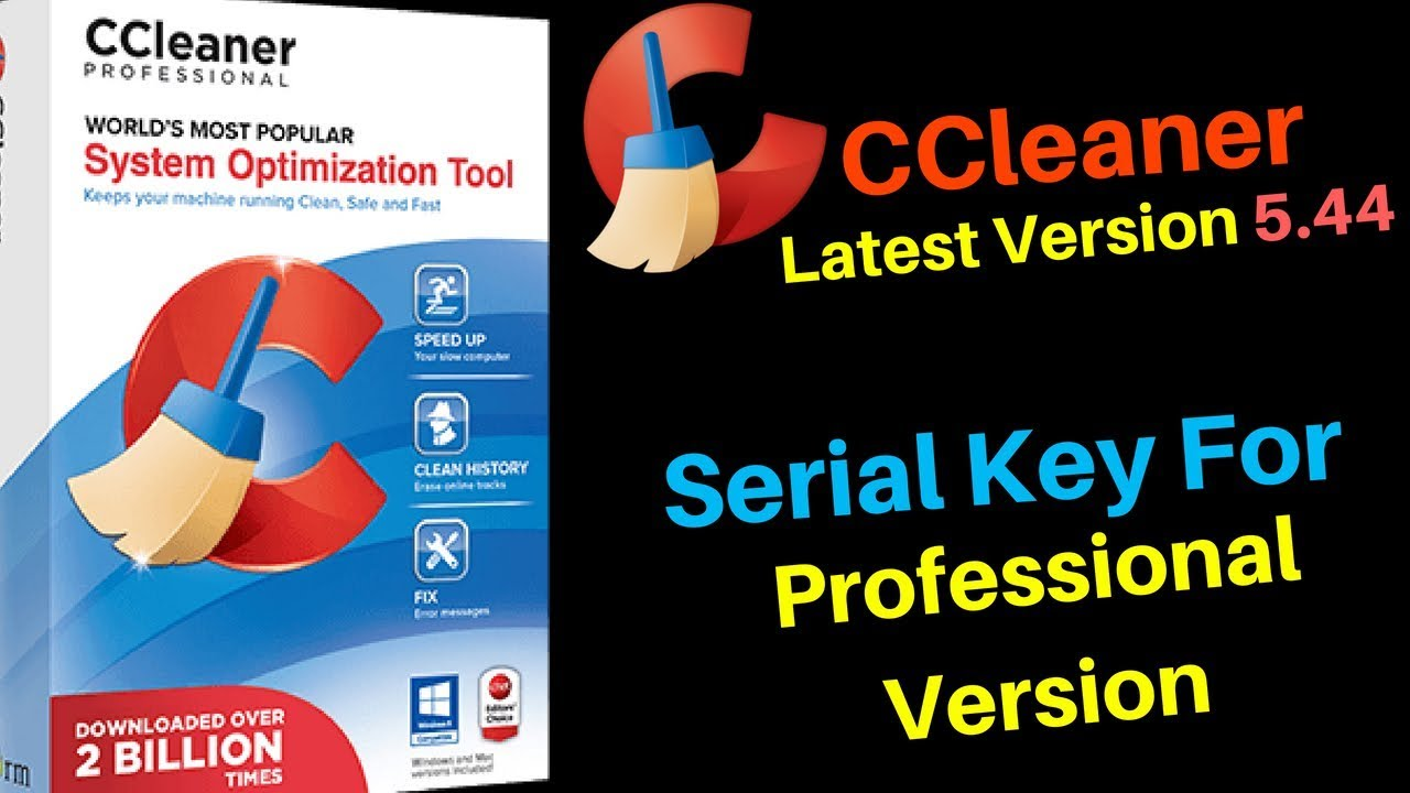 license key ccleaner professional 2018