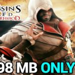 998 MB DOWNLOAD ASSASSINs CREED BROTHERHOOD FOR PC FREE REAL