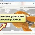 Install AutoCAD 2019 with activation by xforce
