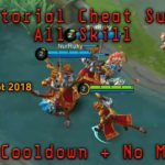 Cara Cheat Sun No Cooldown dan No Mana Mobile legends bang bang
