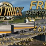 Euro Truck Simulator 2 1.32.3s + 61 DLCs Free Download