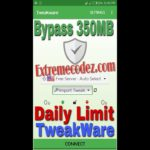 How To Bypass Tweakware VPN 350mb Limit Per Day Using ID changer