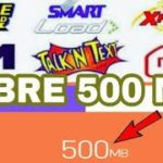 LIBRE 500 MB FOR ALL NETWORK NA