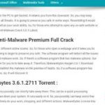 Malwarebytes 3.6.1 Serial Key Free Download