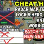 UPDATE CHEATHACK RADAR MAP ANTI EROR SEASON 10 WORK DI RANKED