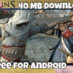 40 MB Download Assassins Creed game for Android for free