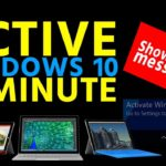 ACTIVE WINDOWS 10 only 2 MINUTE All Editions Without any