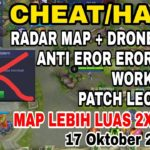 CHEATHACK RADAR MAP UPDATE PATCH LEOMORD ANTI EROR 100 WORK –