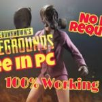 How To Download PUBG on PC For Free With 2 gb ram ( High