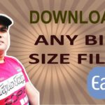 How to download big size file without any download software?