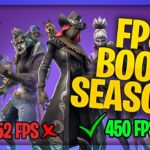 RUN FORTNITE ON LOW END PC FIX LAG AND STUTTER FPS BOOST SEASON