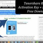 Tenorshare ReiBoot 7.2 Activation Key + Free Crack