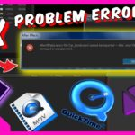 Cara Fix Adobe After Effect Error File Video .MOV Action
