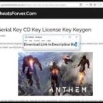Anthem Serial Key CD Key Keygen – Crack