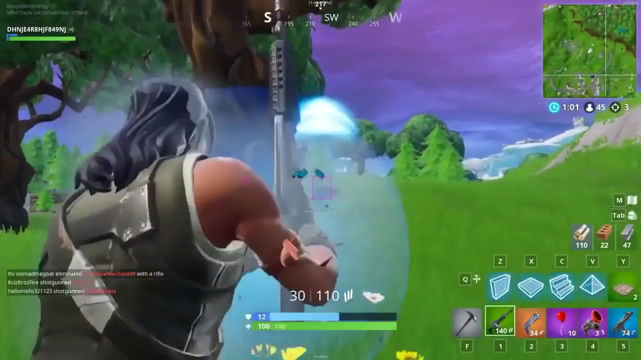 FORTNITE HACK 2018 AIM WH ESP FREE DOWNLOAD UNDETECTABLE PC