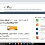 Glary Utilities PRO 5.1 Crack License key 2019 For MacWin
