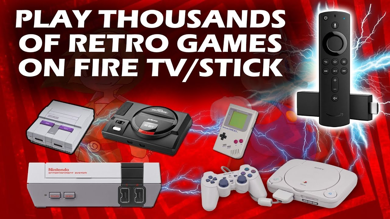 Play Thousands Of Retro Games On Firestick Fire Tv With