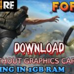 Download Free Fire PC In 1GB ram Without Graphics Card Low