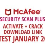 Latest Mcafee security can plus activate key + crack download