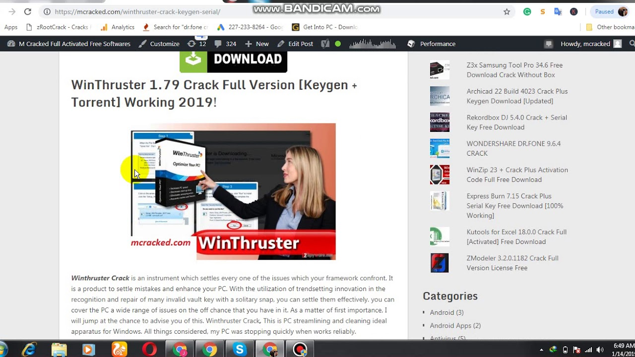 Winthruster 1.79 License Key Free | Crack all the World ...