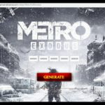 Working Metro Exodus cd key steam keygen serial key generator