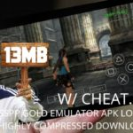(13MB)PPSSPP GOLD APK ENABLE CHEAT.DB FILE HIGHLY COMPRESSED