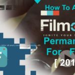 HOW TO ACTIVATE FILMORA9 PERMANENTLY FOR FREE