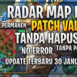 PERMANEN RADAR MAP HACK PATCH VALE MOBALOGIC TANPA HAPUS FILE