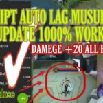 SCRIPT MUSUH LAG V4 + DEMEGE ALL HERO WORK RANKED