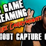 How To Do 2 PC Game Streaming Without Capture Card – Hindi