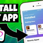 NEW How To SIGN ANY iPA Install APPGAME iOS 12 NO Revokes NO