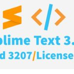 Sublime Text 3 build 3207 license key