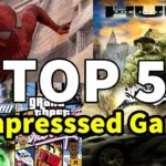 Top 5 Highly Compressed PC Games Under 500MB