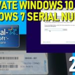 Activate Windows 10 Pro with a Windows 7 Pro Serial Number Key