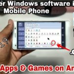 How to Run Install PC SoftwareGames In Android Phone