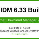 IDM 6.33 Build 2 Install and activate Internet Download Manager