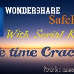 Wonder-share Safe Eraser With Serial Keys Life Time Crack