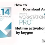 vmware workstation 14 pro full version lifetime activate with