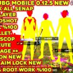 Cheat pubg mobile, new script, hosts brutal, no recoil,