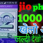 Jio phone new games