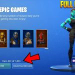 NEW How To Get EVERY ITEM in Fortnite FREE (JENSENSNOW)